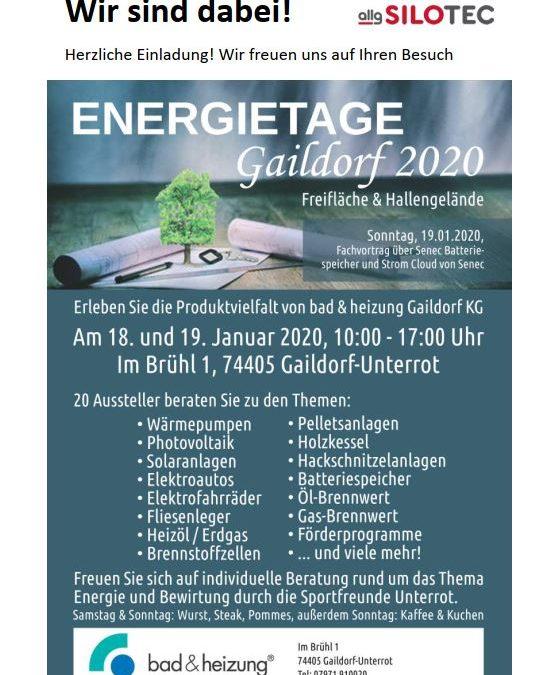 Energietage Gaildorf 2020